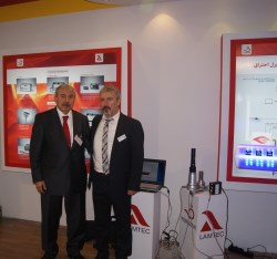 Mr. Yalcin and Mr. Eryilmaz From LAMTEC Turkey